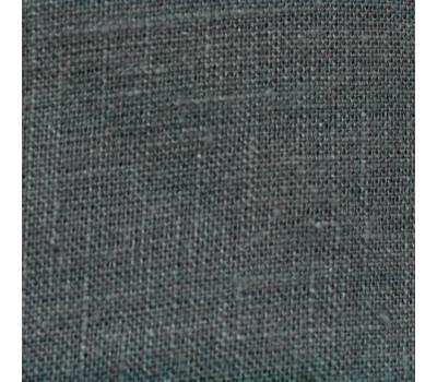17-76 Ткань лён 100% тёмно-серый (1438)