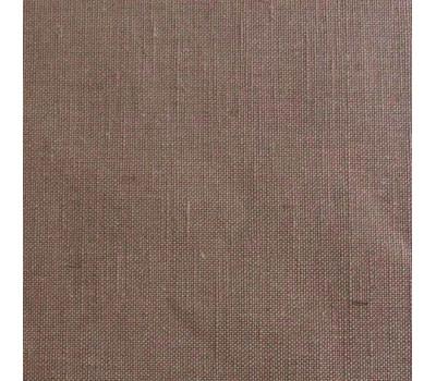 Крашеный полулён коричневый