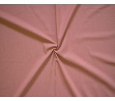 Крашеная полульняная ткань (бледно-бордовый)