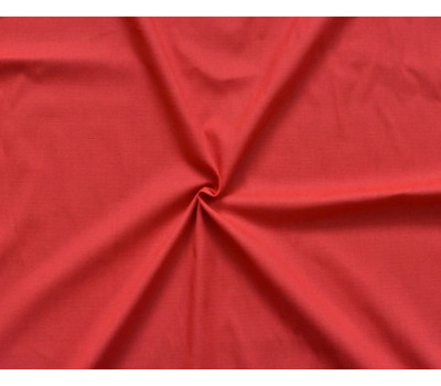 19-12 Крашеная полульняная ткань (красный)