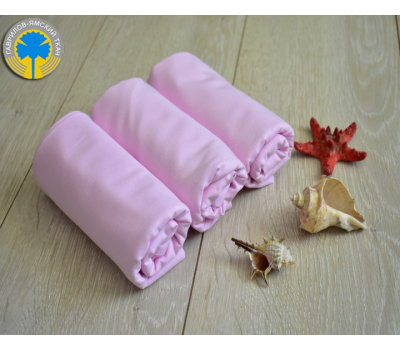Муслиновая пеленка розового цвета