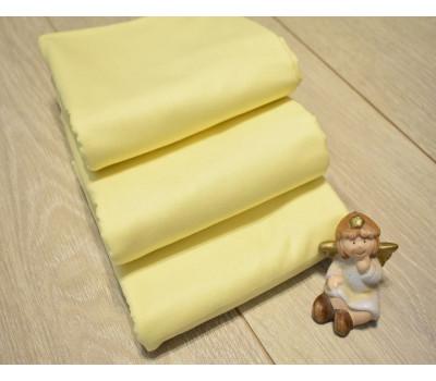 Перкалевая пеленка жёлтого цвета