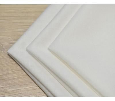 Перкалевый платочек белого цвета