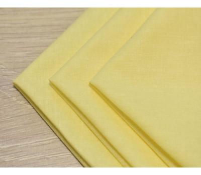 Перкалевый платочек жёлтого цвета