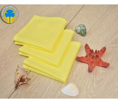 Муслиновый платочек лимонного цвета