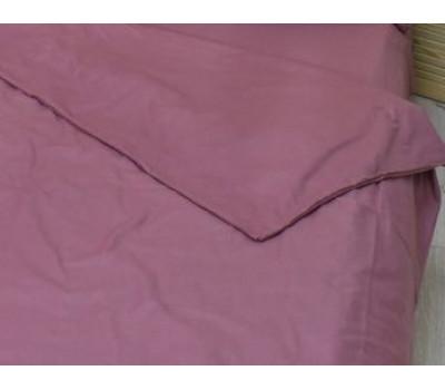 Пододеяльник 2 спальный (пыльно-бордовый)