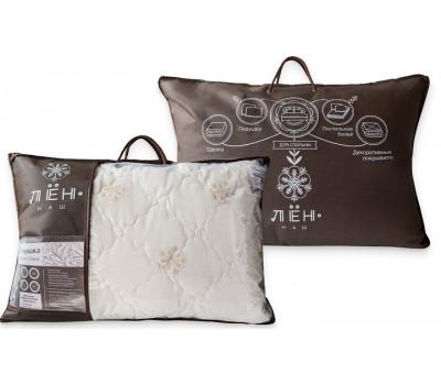 Подушка лён 50*70