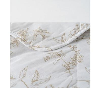 Одеяло льняное евро (Шведская роза)