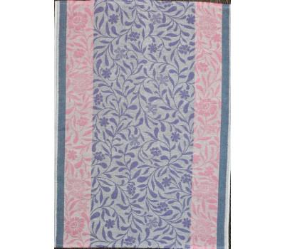 Полотенце 50*70 (Ромашка) сиреневый-розовый