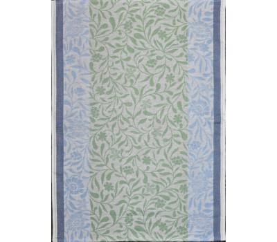 Полотенце 50*70 (Ромашка) голубой