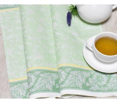 Полотенце 50*70 (Василёк) салатовый-зелёный