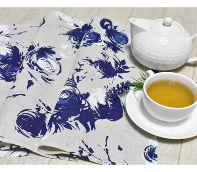 Полотенце 45*70 Синяя роза