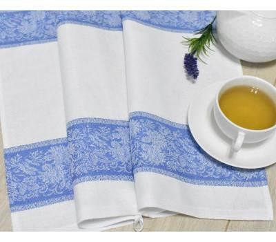 Полотенце 50*70 (Полевые цветы) синий