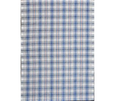 Полотенце 50*70 (Клетка) синий