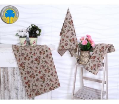 Полотенце 50*70 (Вальс цветов)