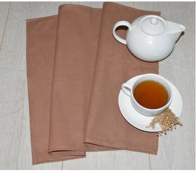 Полотенце 45*70 коричневый