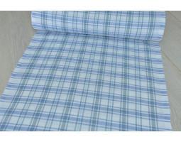 6-17 Холст Клетка (синий-серый)