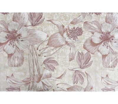 Ткань с рисунком (Цветущий лён)