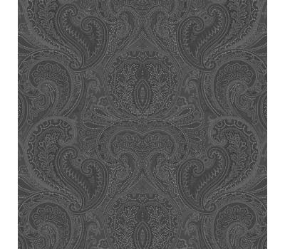 Ткань с рисунком (Королевский бархат чёрный)
