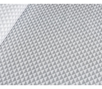 Полульняная ткань с рисунком