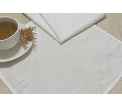 Белые салфетки 35*35