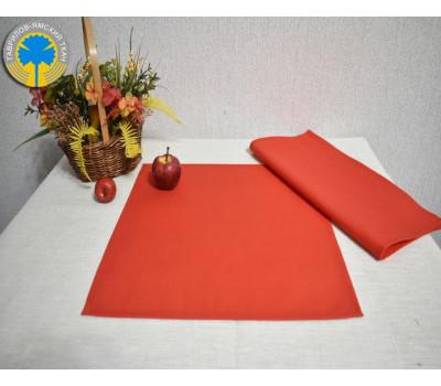 Красные салфетки 35*35