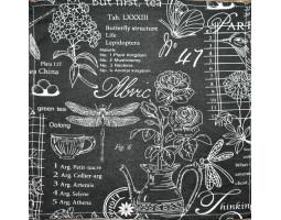 23/904 Салфетка 35*35 (Версаль) черный