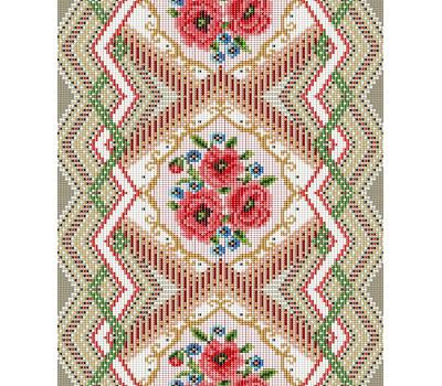 Полотенце 50*70 Цветочная мозаика