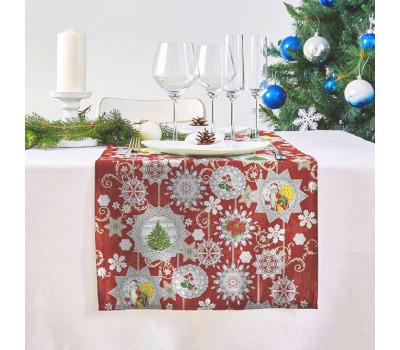 Дорожка на стол (Новогодние узоры)