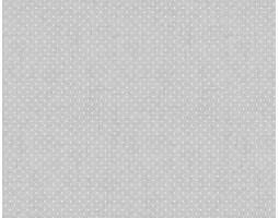 902 Ткань Рогожка (Горошек на льне)