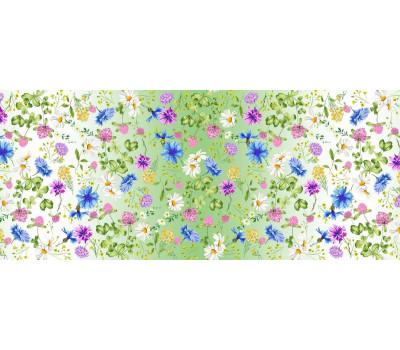 904 Ткань Рогожка (Лето у бабушки)