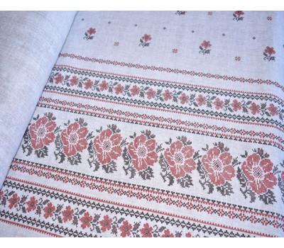 902 Ткань Рогожка (Русский цвет)