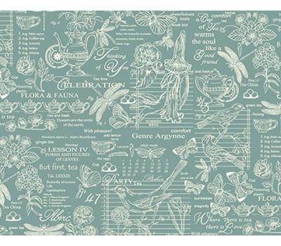 904 Ткань Рогожка (Версаль) зелёный