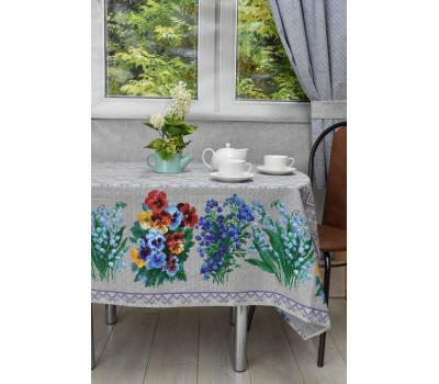 Скатерть (Лесные цветы) 145*200