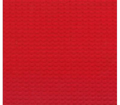 Вафельная полотно клетка 7*7 мм (красный)
