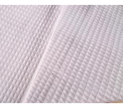 Вафельная полотно клетка 7*7 мм (белый)