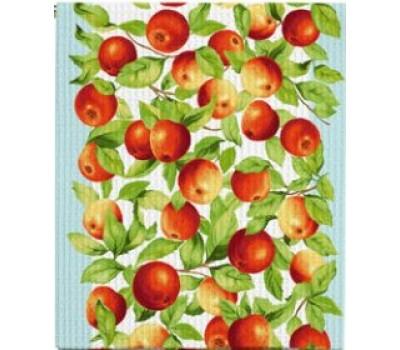 Полотно вафельное 50 см (Яблочки)