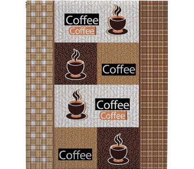Полотно вафельное 50 см (Кофе) вид 1