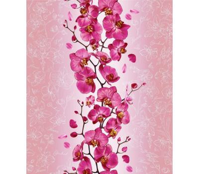 60 Полотно вафельное 50 см (Орхидея)вид 1