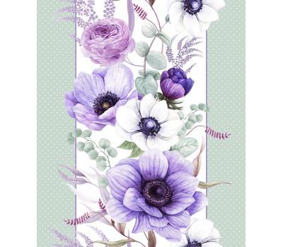 Полотно вафельное 50 см (Виолет)
