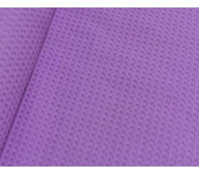Вафельная полотно клетка 7*7 мм (сиреневый)